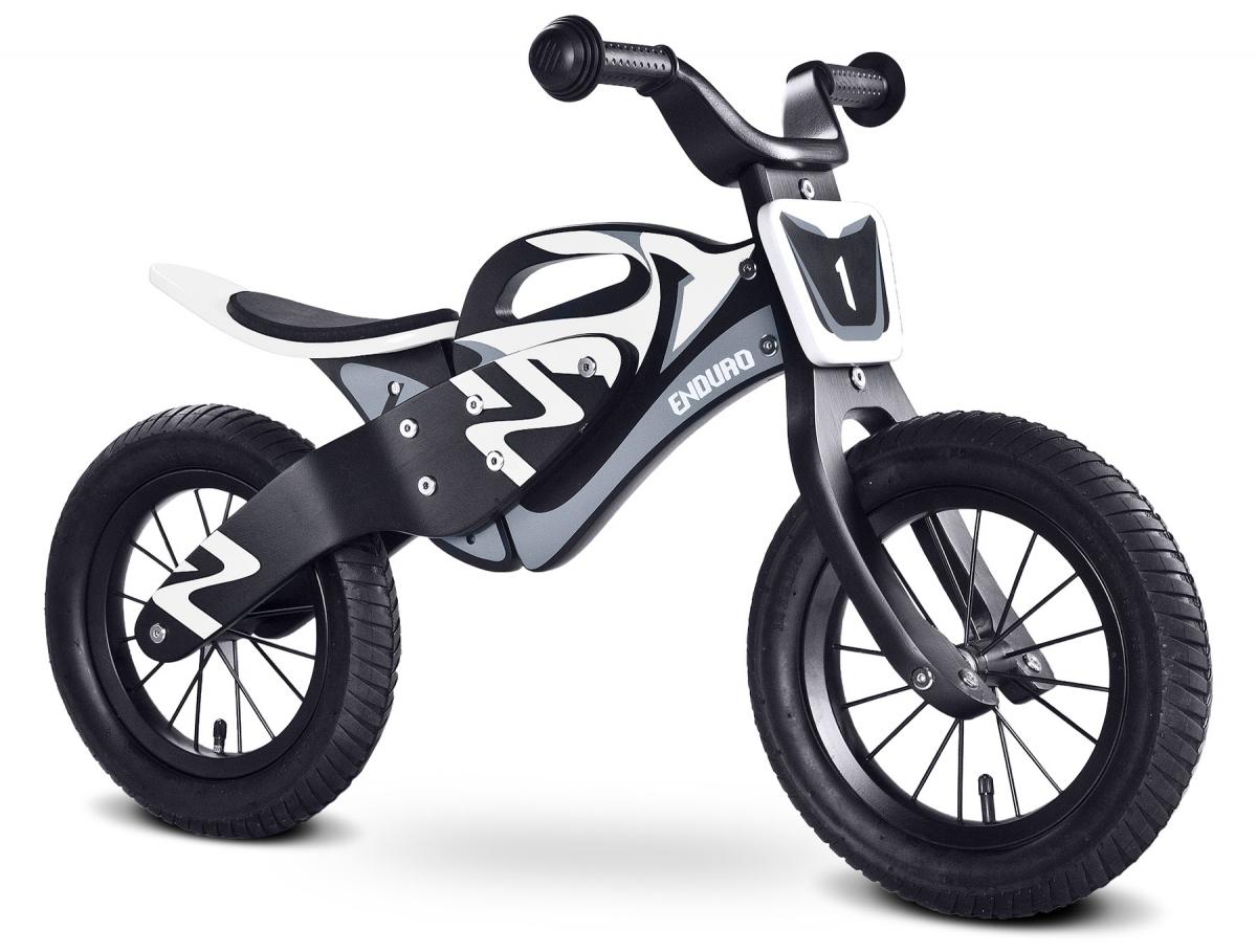 Drewniany rowerek biegowy Toyz Enduro