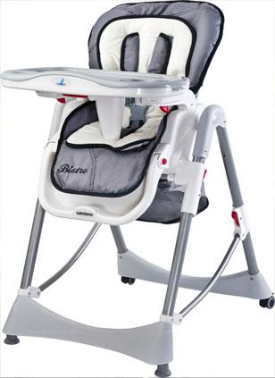 krzesełko caretero bistro grey